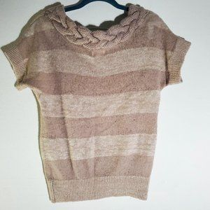 Anthropology Kaisely Striped Sweater S